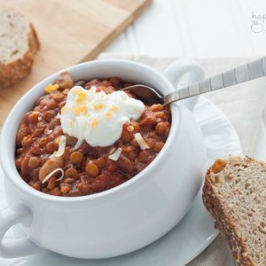 Slow-Cooker Vegetarian Chili Recipe