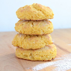 Sweet potato biscuits 2