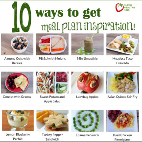 meal plan inspiration