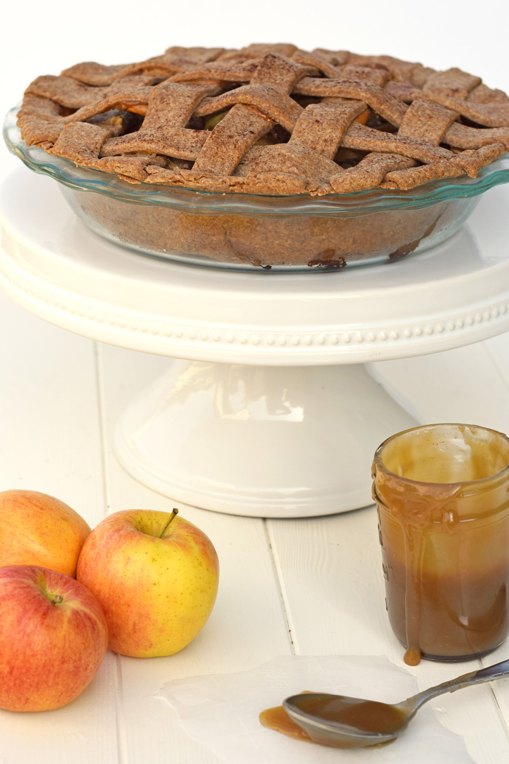 how to make caramel apple pie