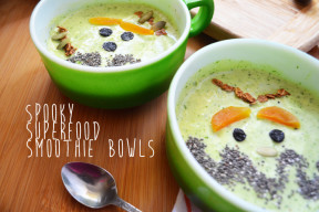 Spooky Superfood Smoothie Bowls