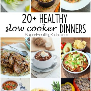 20+ Healthy Slow Cooker Dinners
