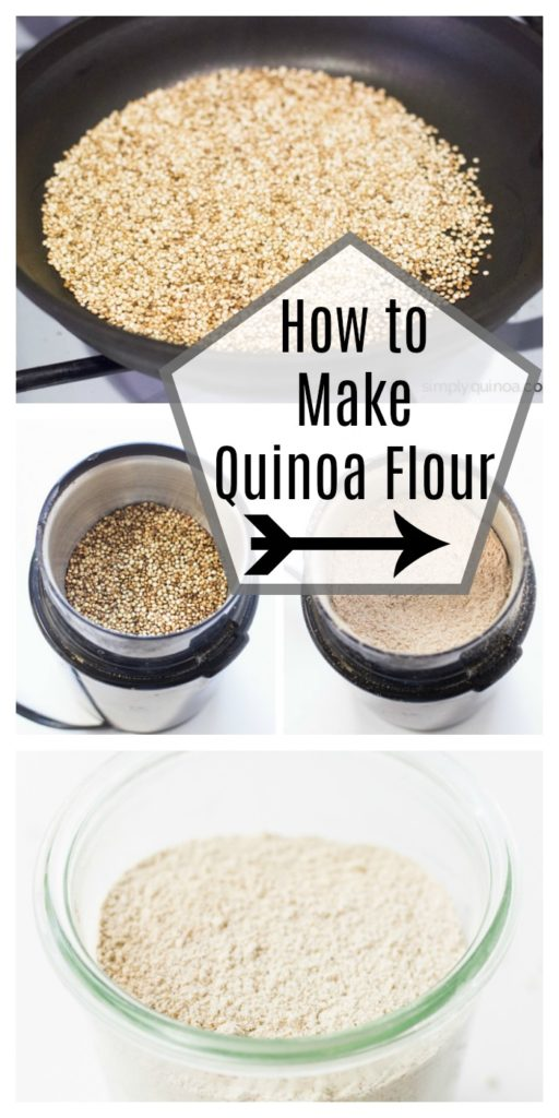 How to Make Quinoa Flour