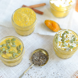 Chia Seed Pumpkin Pudding
