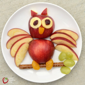 apple owl snack from shk