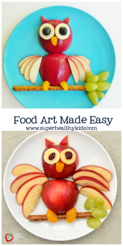 Food Art Made Easy. The easy way to create fun food!