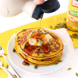 Whole Grain Pumpkin Pancake Recipe