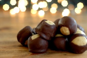 Allergen Friendly Sunbutter Buckeyes :: Peanut, Tree Nut, Egg, Dairy, & Gluten Free!