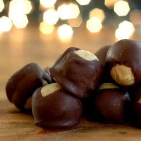 Allergen Friendly Sunbutter Buckeyes :: Peanut, Tree Nut, Egg, Dairy, & Gluten Free!