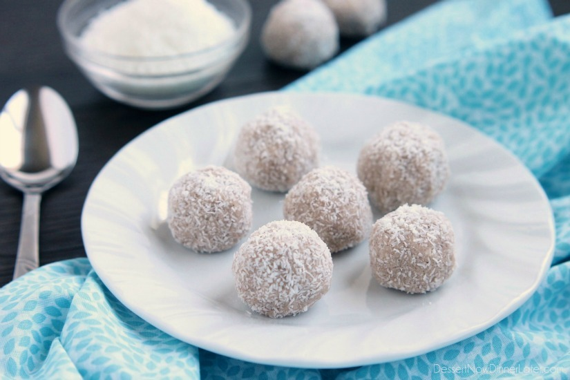 Coconut Snowballs | Healthy Ideas for Kids