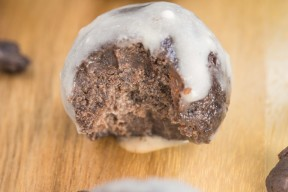 No Bake Double Chocolate Fudge Bites