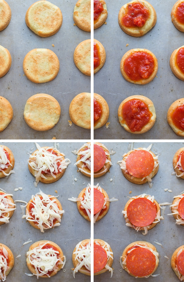Mini Quinoa Pizza Bites. How to make healthy quinoa pizza crust using just 5 simple ingredients (and it's gluten-free + vegan too!)