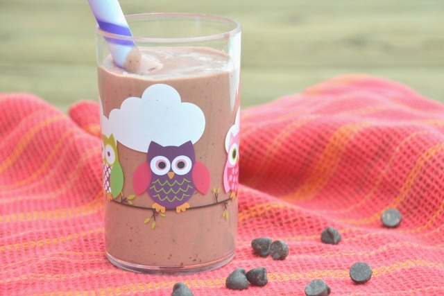 Black Forest Smoothie. This chocolate cherry black forest smoothie is like drinking dessert, but is packed with nutrition! www.superhealthykids.com