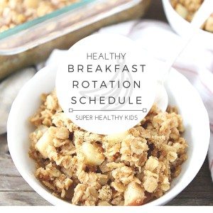 Healthy Breakfast Weekly Planner