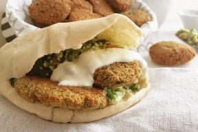 Crunchy Falafel recipe