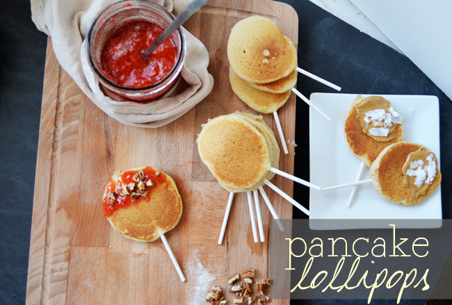 Pancake Lollipops. You'll love how easy it is to turn a boring pancake into a treat with nothing more than this!