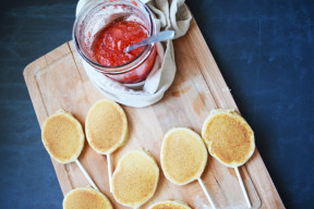 Lollipop Pancakes