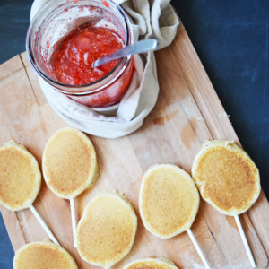 Never Get Tired of Pancakes Again with Pancake Lollipops