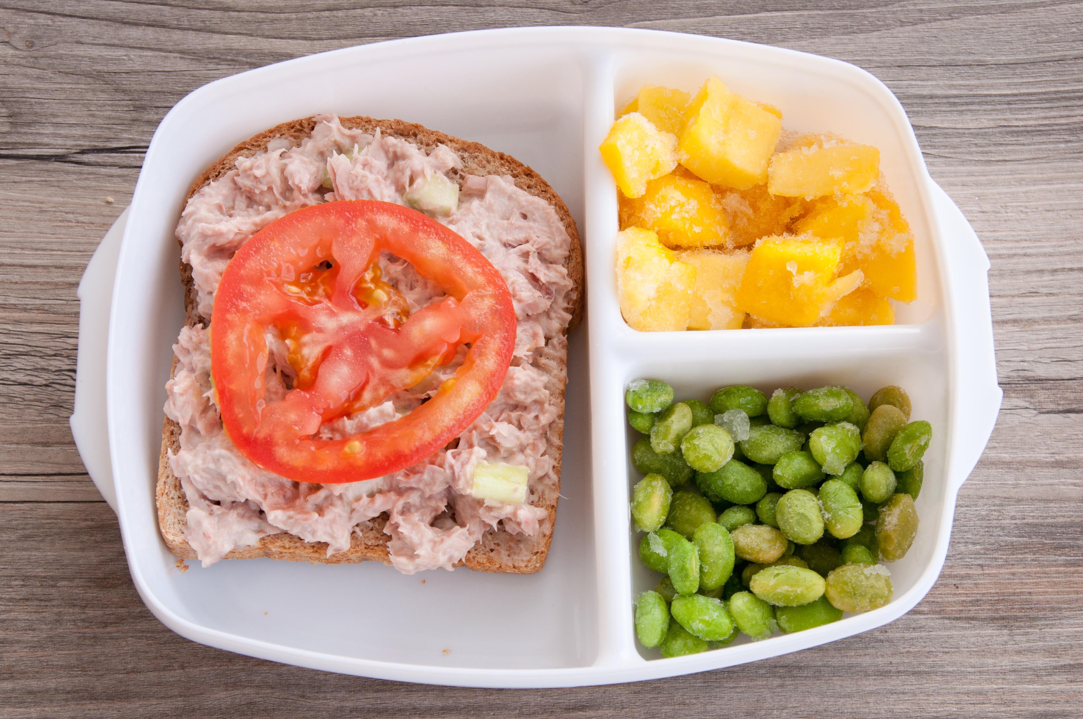 Tuna Salad & Tomato Sandwich   Super Healthy Kids