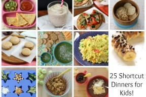 easy shortcut family dinners