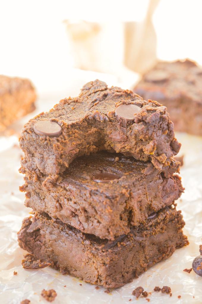 4 Ingredient Sweet Potato Brownies