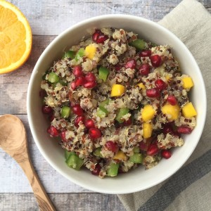 Colorful Warm Quinoa Salad