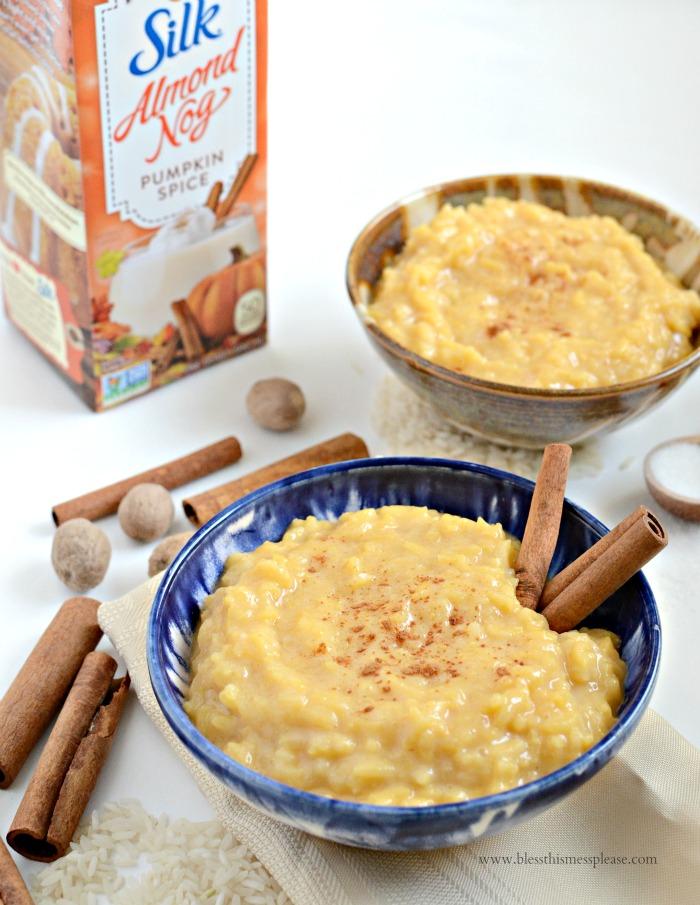 3 Ingredient Pumpkin Spice Pudding
