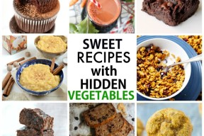 Healthy Sweet Recipes with hidden vegetables!