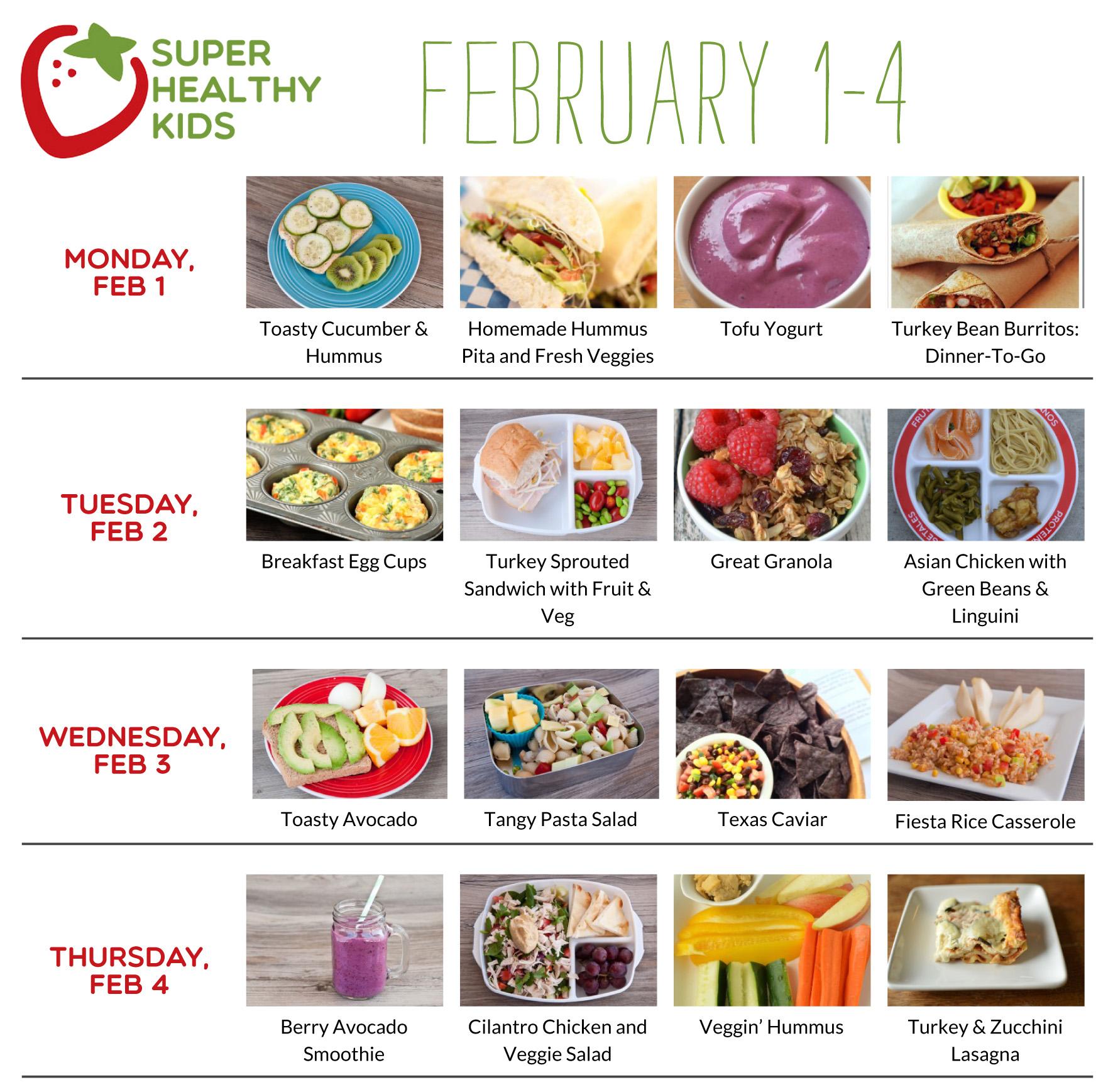 February 1-7 | Super Healthy Kids