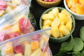 Just add water or milk to these make ahead freezer smoothie packs for a quick, delicious, and nutritious breakfast or snack anytime!