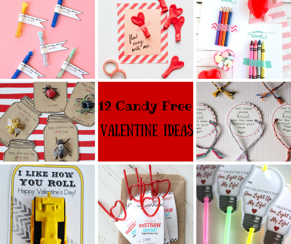 12 Fun Kid Friendly Candy Free Valentine Ideas. Sick of all the candy that surrounds Valentine's Day? Send your kiddo to school with one of these candy free treats this year!