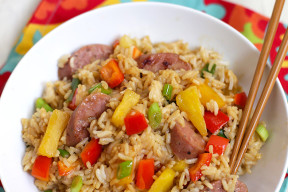 Pineapple Fried Rice - Get a colorful, flavorful dinner on the table in minutes.