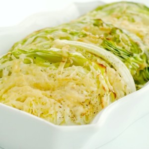 Parmesan Roasted Cabbage Wedges