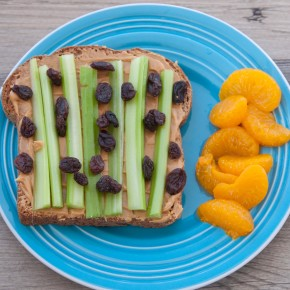 Peanut Butter and Celery on Toast