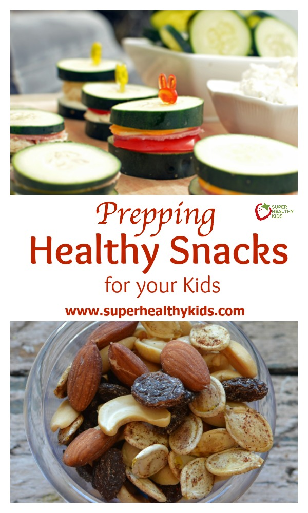 Prepping Healthy Snacks to Have Ready for your Kids. Prep-ahead snacks so you're always prepared for the munchies!
