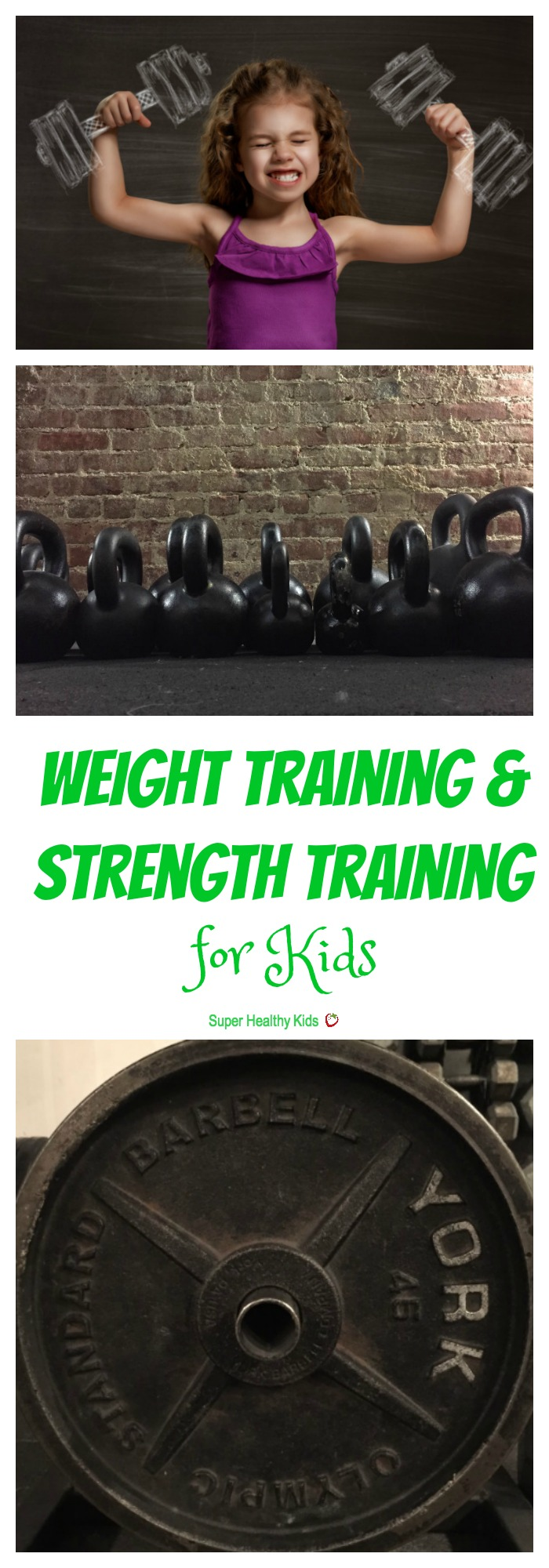 FITNESS FOR KIDS - Weight Training & Strength Training for Kids. Should kids lift weights for exercise? All about strength training for kids. http://www.superhealthykids.com/weight-training-strength-training-kids/