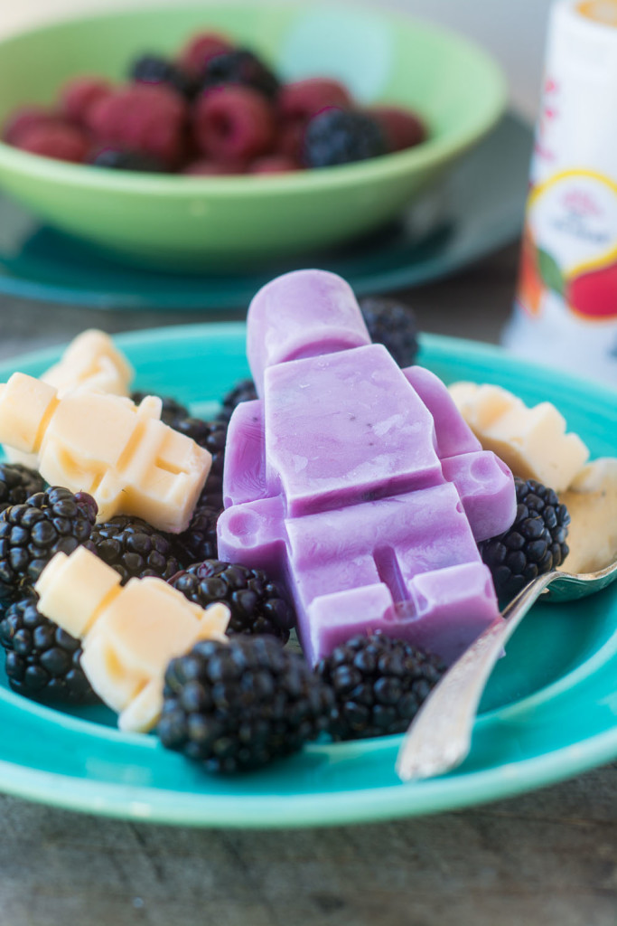 Colorful Healthy and Fun Frozen Yogurt Snacks to make snacktime more like play time!!