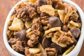 Sweet and Salty Trail Mix Granola- thebigmansworld.com