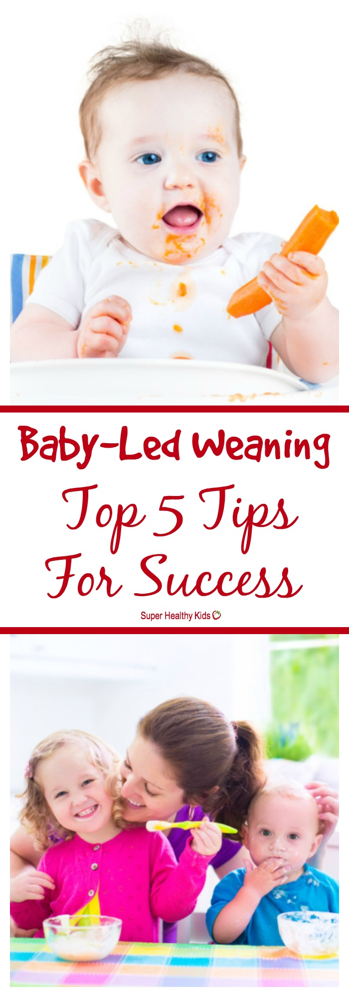 BABY - Baby-Led Weaning: Top 5 Tips For Success. The top tips for successful baby-led weaning, from a dietitian and mom. http://www.superhealthykids.com/baby-led-weaning-top-5-tips-success/