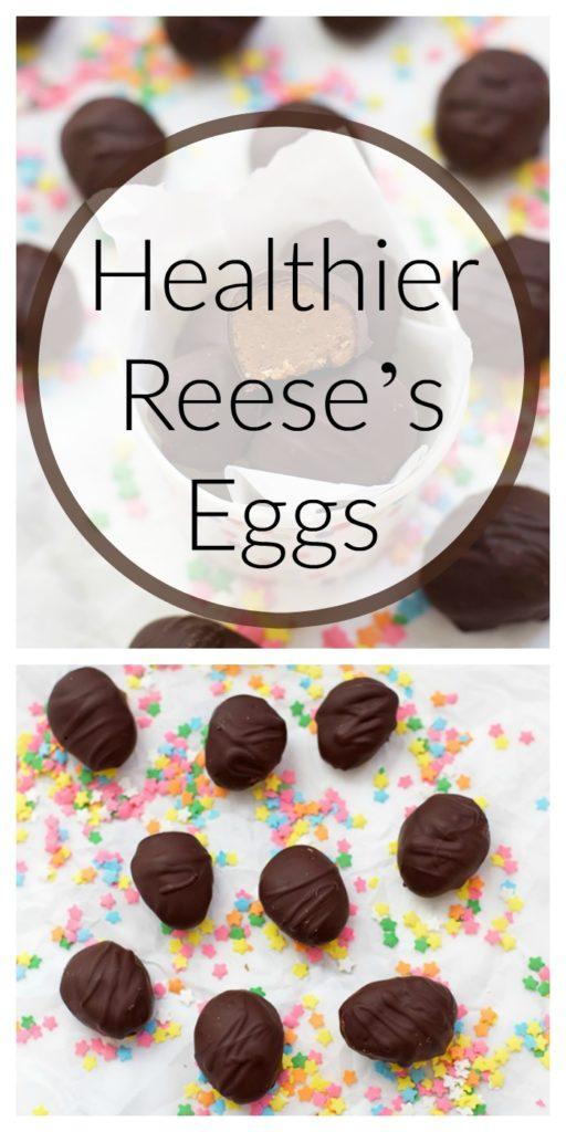 Healthier Reese's Eggs