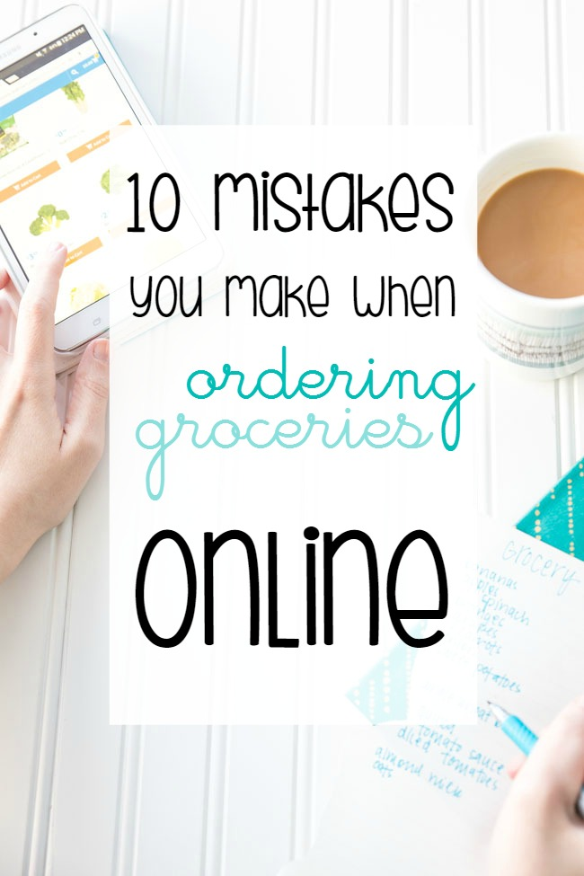 Feeling like online grocery shopping is going to change your life? Well, I'm with ya' there. You are absolutely right. But you gotta make sure you're not making some of these common mistakes that could ruin your experience. Pin to save for future reference and click through to see if you're making any of these mistakes. www.superhealthykids.com