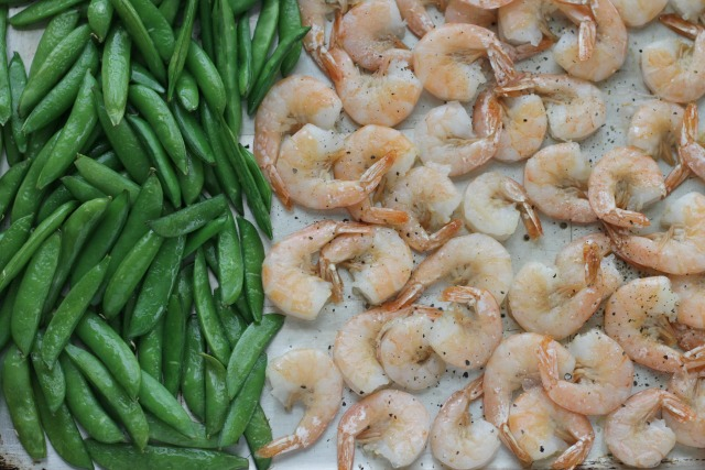 Easy Sheet Pan Shrimp and Veggies