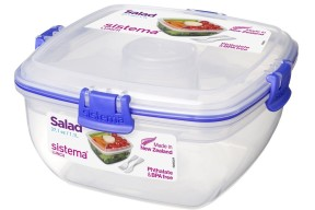 Sistema Klip It 37.1-Ounce Salad to Go Container