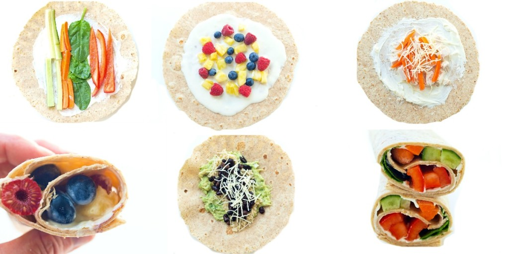 Top 10 Kid-Friendly Wraps. Great ideas to get out of the sandwich rut!