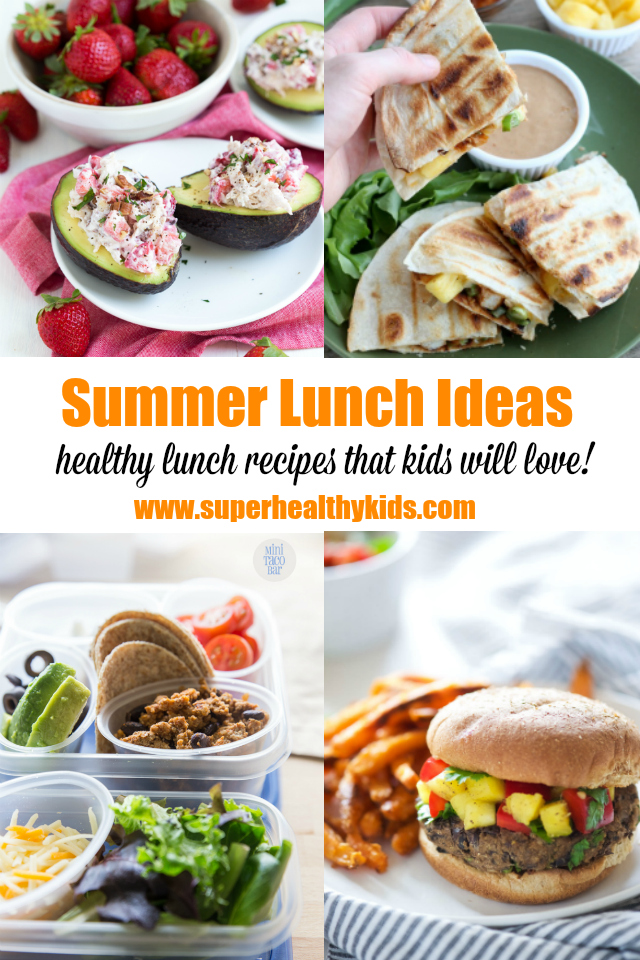 15 Easy And Fresh Summer Lunch Ideas Healthy Ideas For Kids