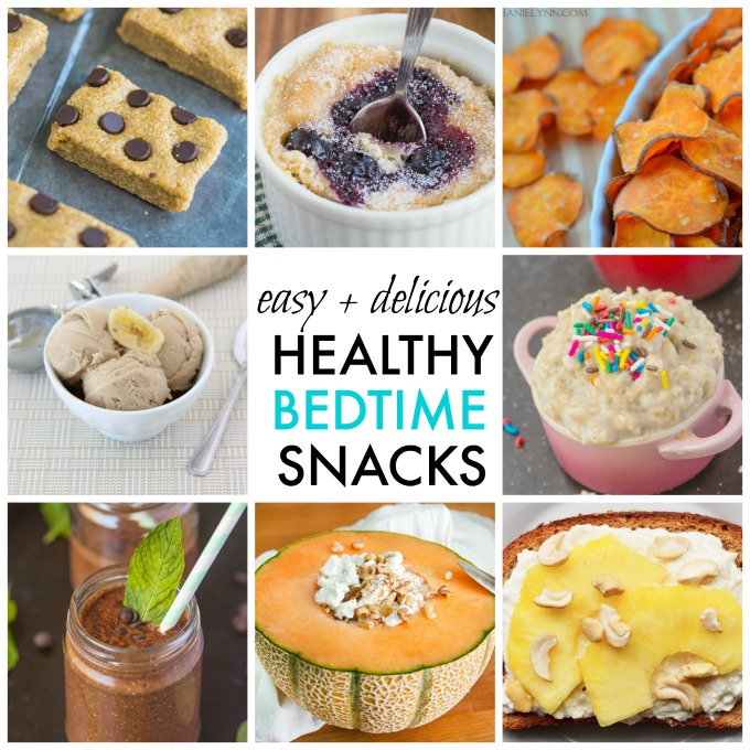 10 Quick Easy And Healthy Bedtime Snack Ideas Healthy