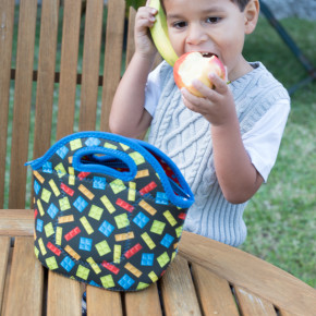 funkins lunch bag lego boy