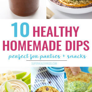 10 Super Healthy Homemade Dips