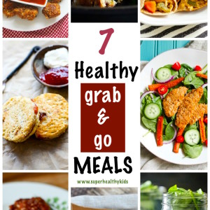 7 Super Easy and Healthy Grab and Go Meals!