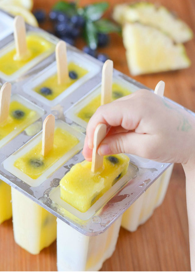 We hope you try and enjoy our Strawberry Lemonade Ice Pops!!